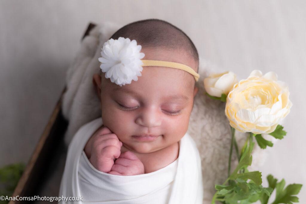 Walk through a newborn session